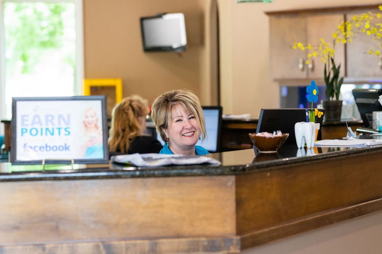 Front Desk at Orthodontic Specialists of Seguin and San Antonio